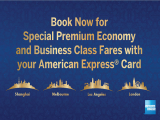 Travel the World in Style on Singapore Airlines with American Express from SGD748