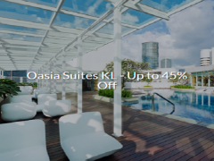 45% Off Stays at Oasia Suites Kuala Lumpur via Far East Hospitality