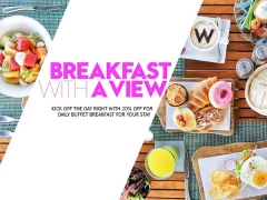 Breakfast with a view with W Bali, Seminyak