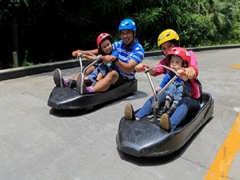 Get SGD5 Off 5-Rides Tickets in Skyline Luge Sentosa with ANZ Bank Card