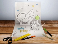 Children Go FREE with Family Fridays Special Offer in Art Science Museum