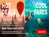 Hot Deals Cool Fares from SGD129 to your Favourite Destinations with AirAsia
