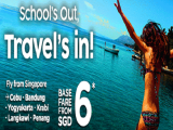 School's Out, Travel's In! Fly from SGD6 with AirAsia to your Next Getaway