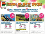 School Holidays Specials