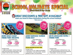 School Holidays Specials