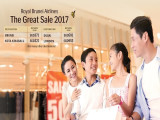 The Great Sale 2017 | Flight Offers from Royal Brunei Airlines from SGD321