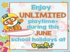 School's Out this June in Pororo Park Singapore with Unlimited Playtime!
