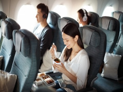 Special Economy and Premium Economy Fares at Cathay Pacific with American Express
