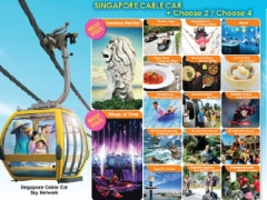 Savings of Up to 50% with Singapore Cable Car Free & Easy Package