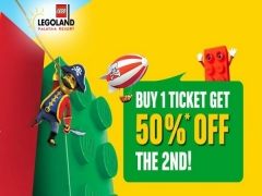 Legoland Malaysia Fantastic Deal | 2nd Ticket at 50% Off