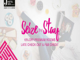 Seize the Stay Offer in Hotel Jen with 15% Savings