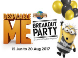 Join the Despicable Me Breakout Party in Universal Studios Singapore