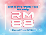 Two-Park Pass for Only RM88 in Puteri Harbour Playtime Theme Parks