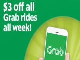 Enjoy $3 Off Grab Ride with OCBC Card