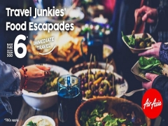Travel Around Asia from SGD6 with AirAsia