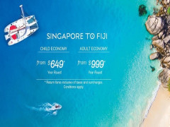 Fly High Down Under via Nadi with Fiji Airways from SGD689