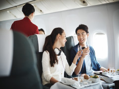 Cathay Pacific Two-to-Travel Business Class Offer from SGD540 with American Express