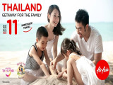 Getaway for the Family in Thailand with AirAsia from SGD11