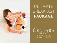 Ultimate Breakfast Package in Centara Grand Bangkok for your Stay