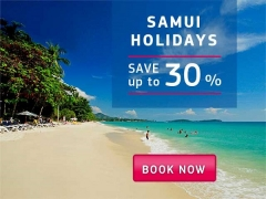 Enjoy Up to 30% Savings on your Samui Holiday with Centara
