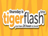 TigerFlash Sale | Fly to Your Favourite Destinations with Tigerair from SGD38