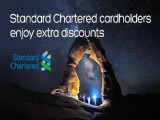 Up to 12% Savings on your Accommodation with Hotels.com and Standard Chartered Bank Card