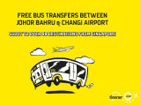 Fly with Scoot and Get a FREE* Bus Transfer Between Johor Bahru & Changi Airport
