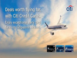 Deals Worth Flying for, with Citi Credit Card and Singapore Airlines to Over 55 Destinations!