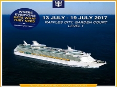 Special Offers Up for Grabs for Royal Caribbean Cruises in Raffles City, Garden Court
