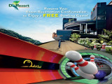 Book and Stay in D'Resort @ Downtown East and Enjoy FREE Bowling Session