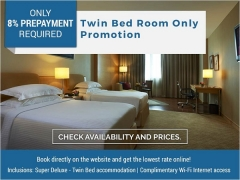 TWIN BED-Room Only Promotion from SGD79 in Royale Chulan The Curve