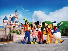 Hong Kong Disneyland Double Fun Package from SGD460 with Cathay Pacific