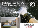 Celebrate Life's Best Moments in The Club from SGD488