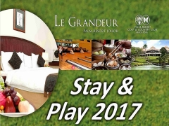 Stay & Play 2017 in Le Grandeur Palm Resort Johor from RM298