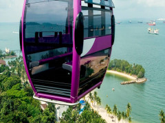 15% Off Singapore Cable Car Ride with China Union Pay