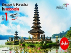 Explore Indonesia and more Destinations with AirAsia Flights from SGD1
