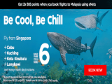 Be Cool, Be Chill with Amazing Flights to Malaysia and Other Destination with AirAsia