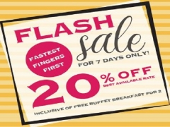 FLASH SALE   Enjoy 20% Off Best Available Rate in Royal Plaza on Scotts