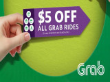 Enjoy S$5 Off Grab Ride with OCBC Card