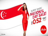 National Day Sale from SGD 0.52 on Flights with AirAsia
