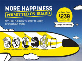 Enjoy 10% Off Fares on Scoot with Promo Code 'FLYSCOOT'