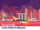Save Up to 20% Off on redBus Tickets to Malaysia with United Overseas Bank