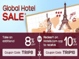 Global Hotel Sale with Up to 10% Savings with Hotels.com