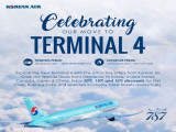 Enjoy Up to 20% Discount on Flights with Korean Air to USA, Japan, Korea and China