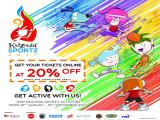 KidZania Kuala Lumpur SportZ Programme at 20% Off
