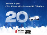 Enjoy 4% Savings | Book Direct in Air China Website for your Flight to Europe, North America and China