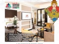 Prambanan Jazz Promotion in Yogyakarta with Swiss-Belhotel