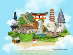 Plan Your Vacation With Garuda Indonesia Flying out of Singapore from SGD108
