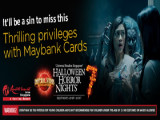 Special Privileges with Maybank Cards for Universal Studios Singapore's Halloween Horror Nights™ 7