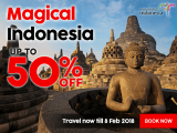 50% Off Flights to Indonesia with AirAsia